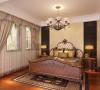 宝华现代城三房装修美式风格设计