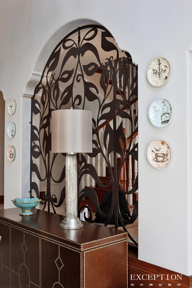 别墅设计 软装设计 室内设计 豪宅设计 例外设计 家居搭配 餐厅图片来自例外软装设计在映画观邸--招商观园别墅软装设计的分享