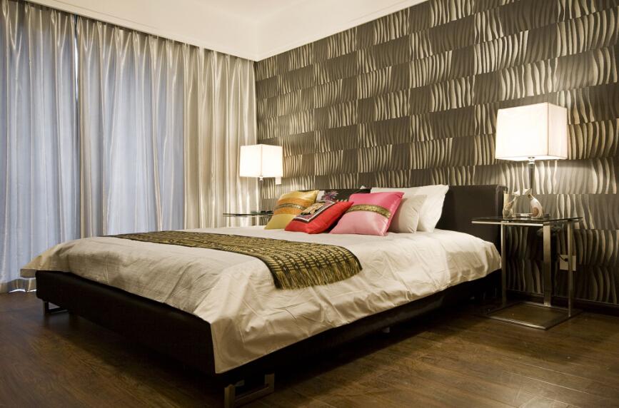 中式 卧室图片来自紫禁尚品设计师李擎在温馨新中式风格的分享