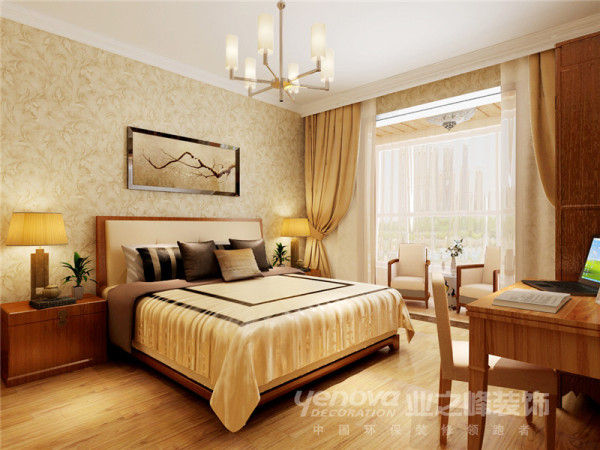 小马花园183平米卧室装修图