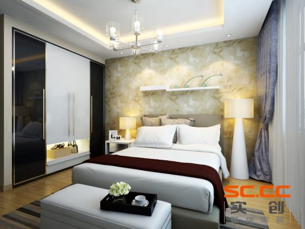 欧式风格的设计是功能性的设计,在卧室的的装修里尽可能的体现他的实用性,而且运用最多的就是白色。