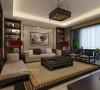 普华浅水湾157三居室新中式风格