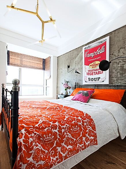 众意装饰 北欧 二居 卧室图片来自众意装饰在天纵水晶郦都的分享