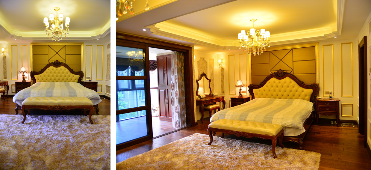 别墅 新古典 东易日盛 王斌 卧室图片来自武汉东易日盛在城投翰城--新古典--王斌的分享