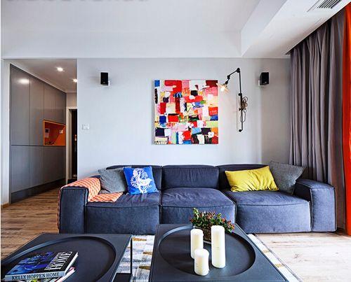 众意装饰 北欧 二居 客厅图片来自众意装饰在天纵水晶郦都的分享