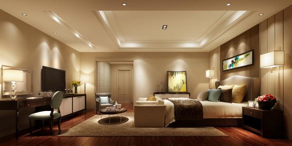 卧主要以黄色为主色调,展现一个休闲的氛围,木质矮桌与低柜,配上原木地板,和式风味的私人空间极有品位,奇特的床型与大城市里猎奇的心态十分吻合,空间组合舒适,而不失审美情趣。