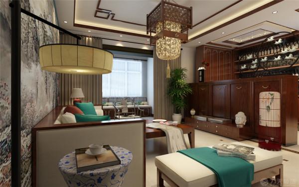 本案为雍华府标准户型3室2厅2卫1厨139㎡的户型。这次的设计风格定义为中式风格。中式风格以儒雅气息映射主人的生活习惯以及兴趣,满足其生活所需求的心理活动。