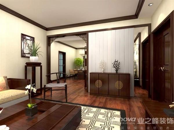 本户型为三室两厅,布局合理,采光良好.风格定义为简中式风格, 设计融合了庄重与优雅双重气质,表达对清雅含蓄,端庄风华的东方式精神界的追求。