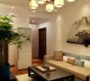 花果园两居室新中式风格家装案例