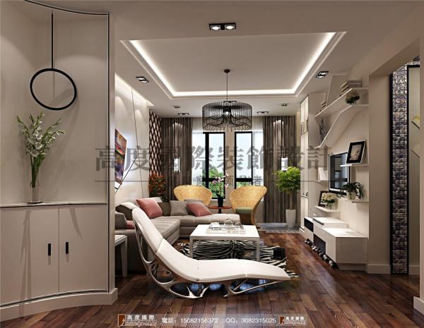 华润24城客厅细节效果图-----高度国际装饰设计
