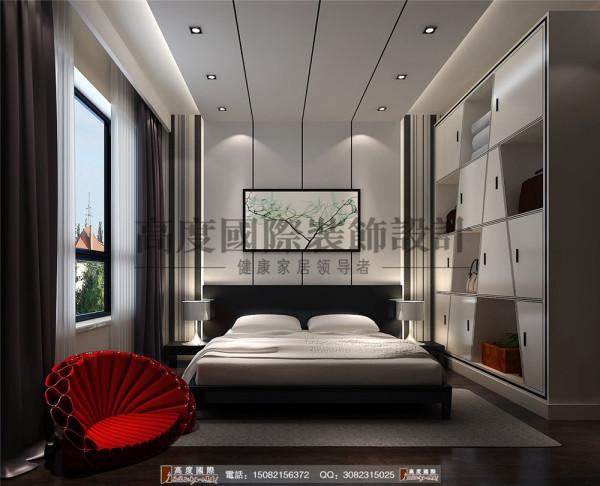 华润24城卧室细节效果图-----高度国际装饰设计