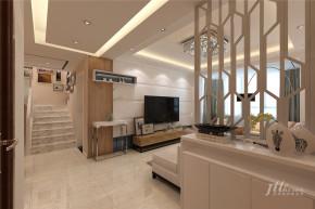 简约 复式 舒适 宁静 楼梯图片来自居泰隆深圳在景蜜村现代简约五居室的分享