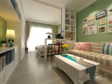 合正逸园现代简约一居室