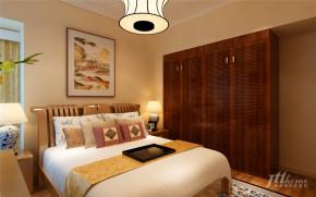 中式 典雅 三居 舒适 宁静 卧室图片来自居泰隆深圳在同创新作新中式三居室的分享