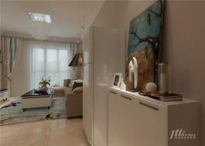 简约 舒适 环保 二居 白领 玄关图片来自居泰隆深圳在海心汇福园现代简约二居室的分享