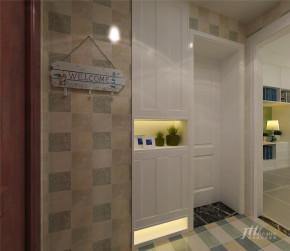 简约 一居 小户型 清新 舒适 宜居 玄关图片来自居泰隆深圳在合正逸园现代简约一居室的分享