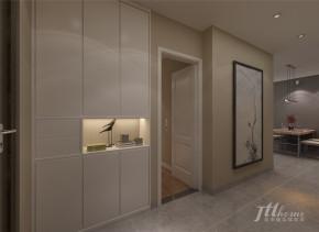 简约 三居 宜居 舒适 环保 玄关图片来自居泰隆深圳在御景澜庭现代简约三居室的分享