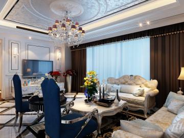 星都豪庭欧式三居室