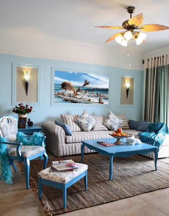 客厅图片来自小若爱雨在蓝色地中海的分享