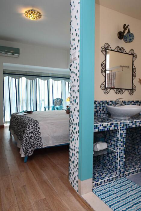 卧室图片来自小若爱雨在蓝色地中海的分享