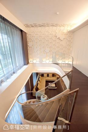现代 四居 简约 收纳 小资 楼梯图片来自幸福空间在465平现代风格超强机能空间的分享