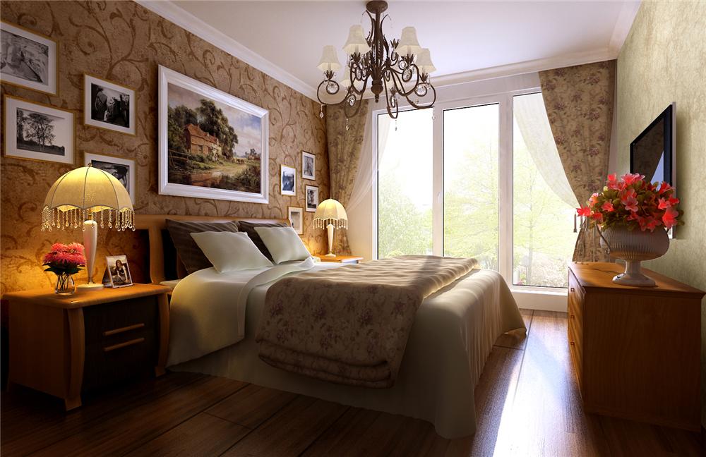 简约 三居 白领 收纳 80后 小资 卧室图片来自实创装饰完美家装在孔雀城英国宫140平简约时尚鉴赏的分享