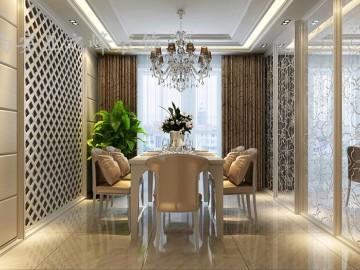 白桦林间144平米现代风格