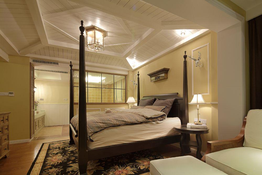 卧室图片来自小若爱雨在幸福秘方140㎡改大三居的分享