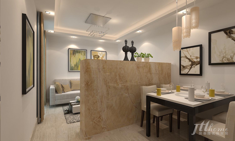 二居 简约 宜居 舒适 温馨 餐厅图片来自居泰隆深圳在振业天峦现代简约 二居室的分享