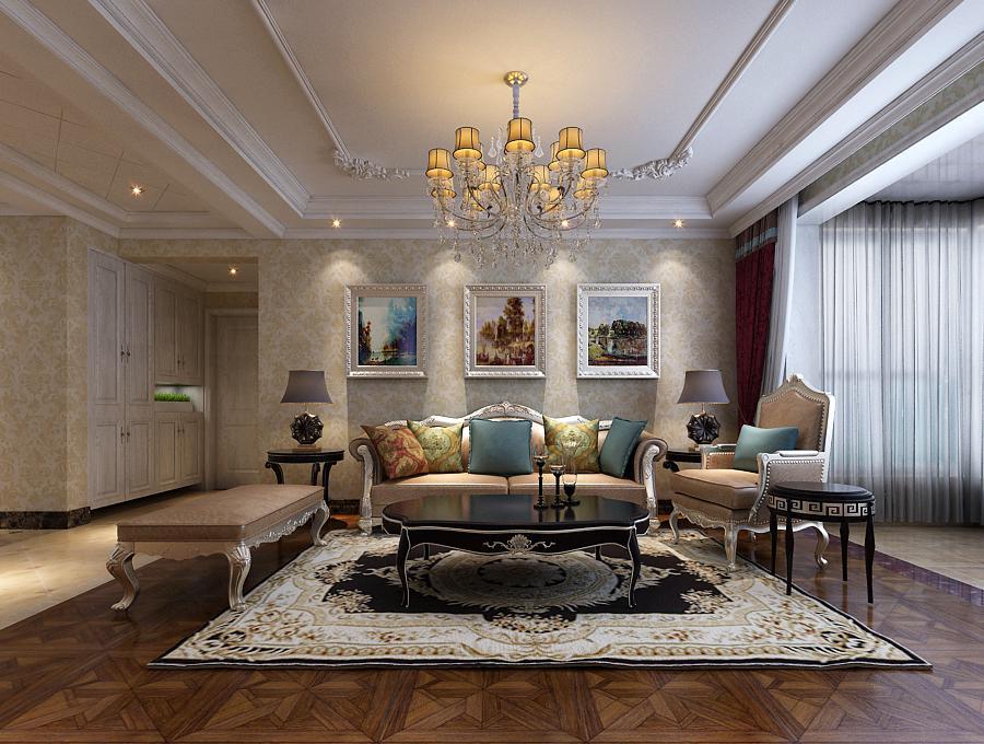 三居 简约 现代 石家庄 客厅图片来自城市人家石家庄店在盛邦139平三室装修效果图的分享