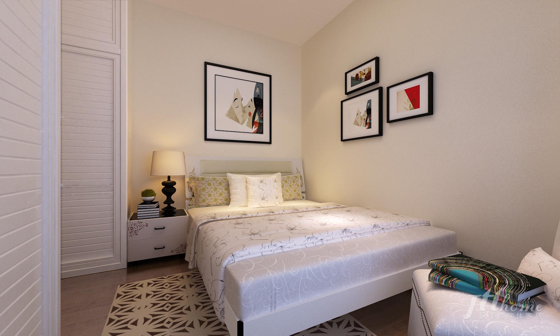 简约 二居 温馨 舒适 宜居 卧室图片来自居泰隆深圳在振业天峦 现代简约 二居室的分享