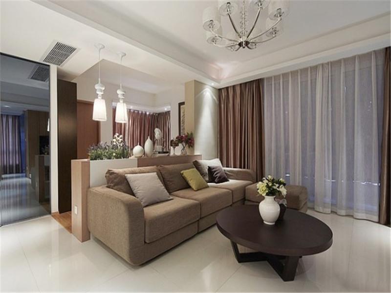 现代简约 三居 客厅图片来自北京精诚兴业装饰公司在安贞里的分享
