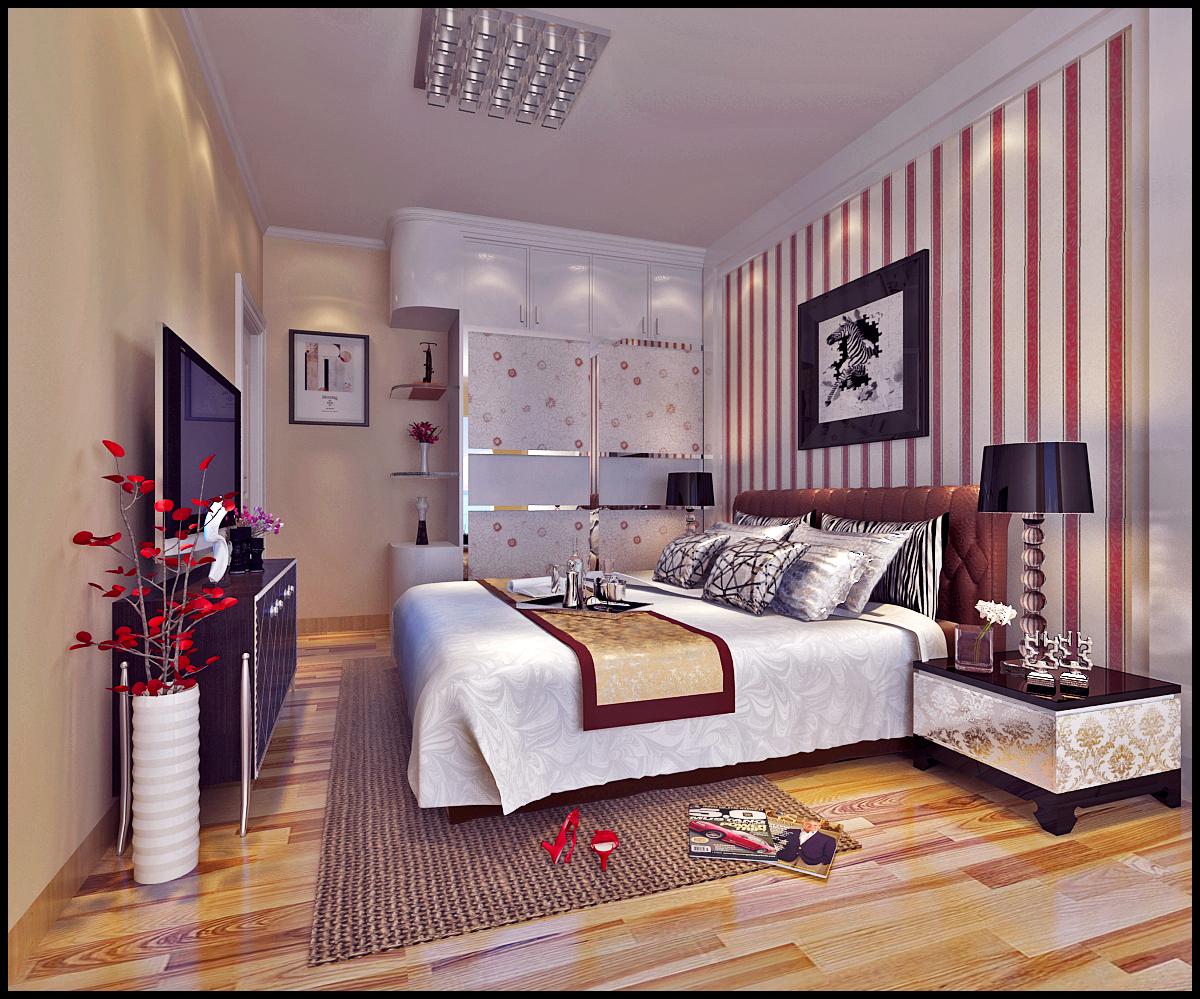 二居 白领 收纳 80后 小资 卧室图片来自广州生活家家居在现代国粹两室的分享