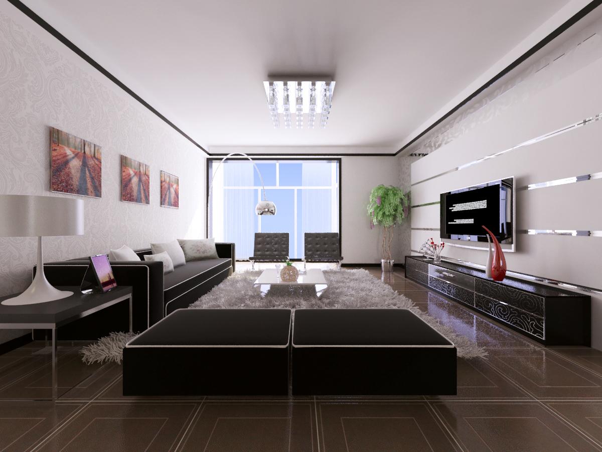 三居 收纳 80后 小资 客厅图片来自广州生活家家居在现代145平米研发的分享