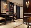 东方国际广场89平两室两厅新古典装修效果图--餐厅