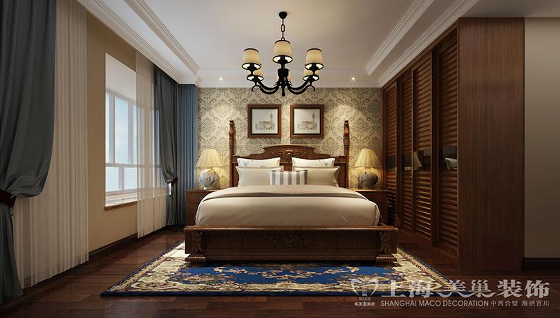 三居 田园 80后 小资 白领 卧室图片来自美巢装饰--李凌晨在蓝堡湾139平美式乡村装修效果图的分享