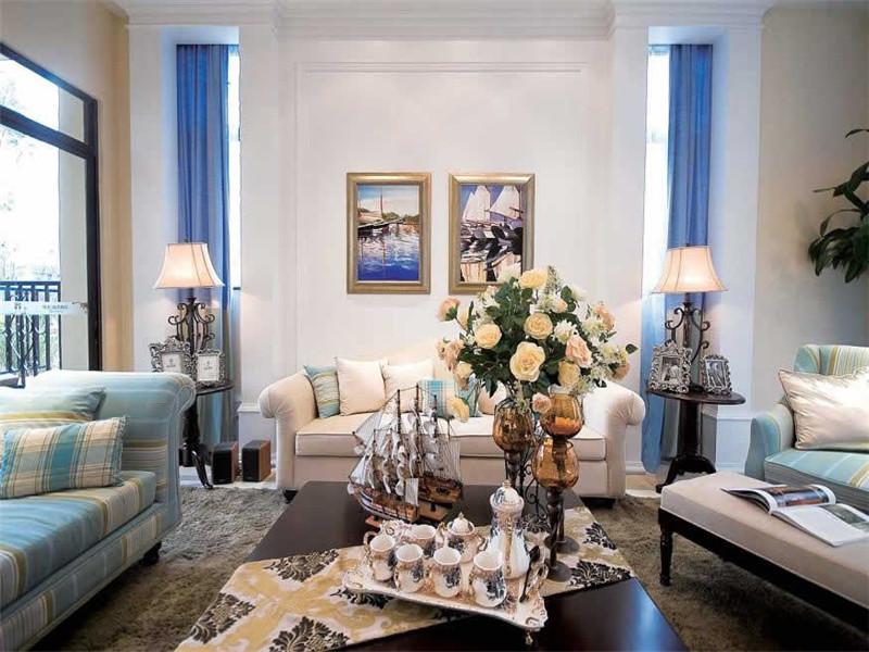 新古典 四居 客厅图片来自北京精诚兴业装饰公司在民旺园的分享