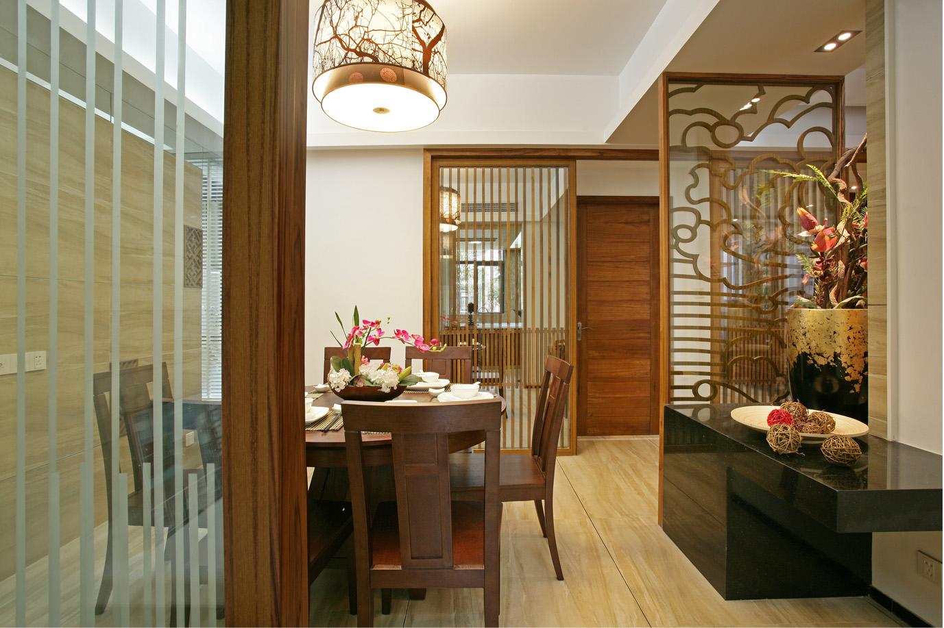 中式 别墅 白领 收纳 餐厅图片来自北京装修设计o在中式风格名都园装修设计的分享