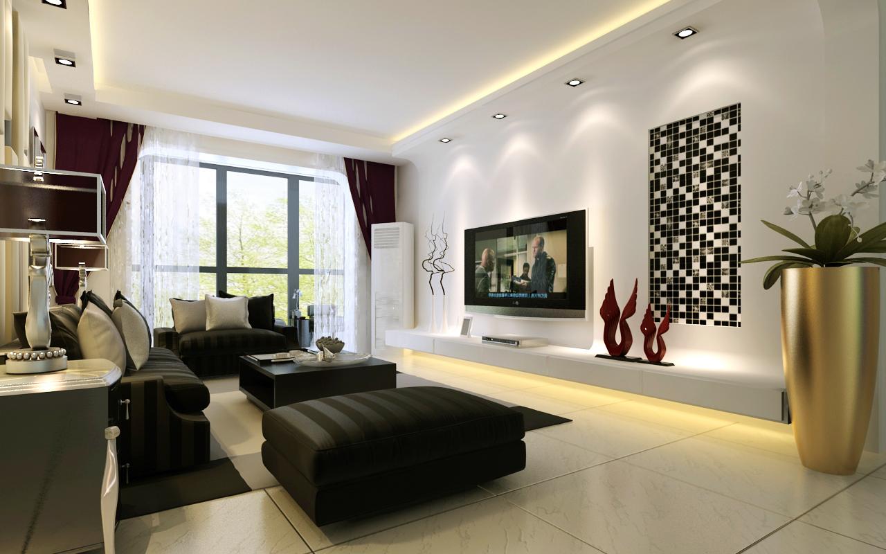 三居 收纳 小资 客厅图片来自广州生活家家居在现代风格 纯净的白的分享