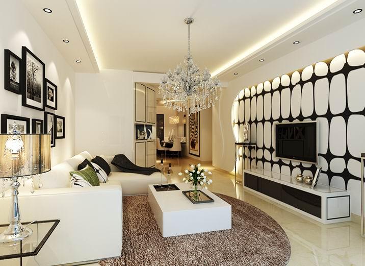 二居 简约 小户型装修 小资 80后 客厅图片来自装饰装修-18818806853在实创装饰--简约风格这么装很美的分享