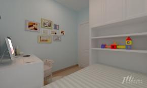简约 二居 温馨 舒适 宜居 儿童房图片来自居泰隆深圳在振业天峦 现代简约 二居室的分享