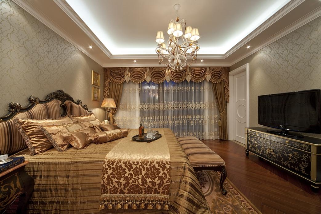 卧室图片来自朗润装饰工程有限公司在中海九号公馆 混搭的分享