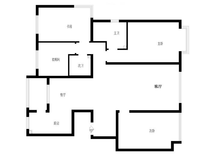 实创装饰 别墅装修 房屋装修 简约风格 户型图图片来自装饰装修-18818806853在珊瑚天峰190平米舒适简约主题的分享