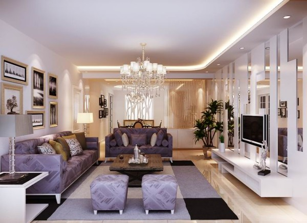 """设计理念:家是心灵的港湾,""""现代简约风格""""以其纯美的色彩组合,赢得人们对它的喜爱。随着人们在旅游中感受到简约的魅力,""""简约但并不简单的装饰风格""""。"""