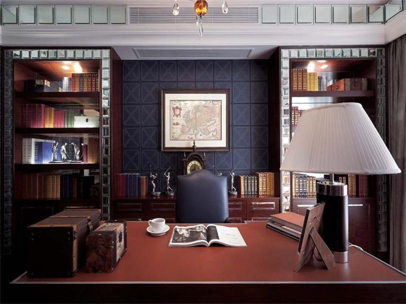 四居 美式 书房图片来自北京精诚兴业装饰公司在和平新城的分享
