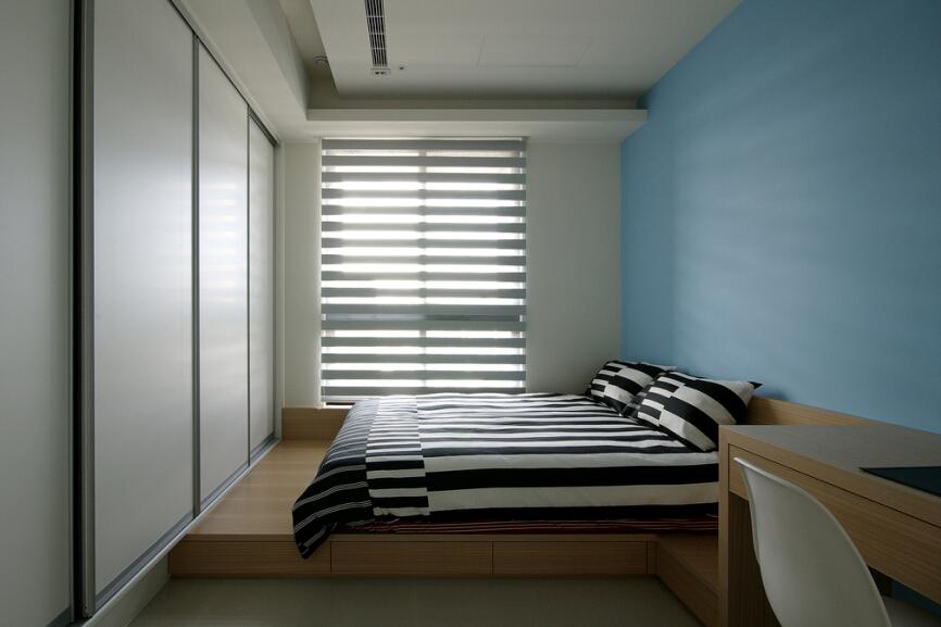 简约 卧室图片来自紫禁尚品设计师李擎在首开常青藤现代简约风格的分享
