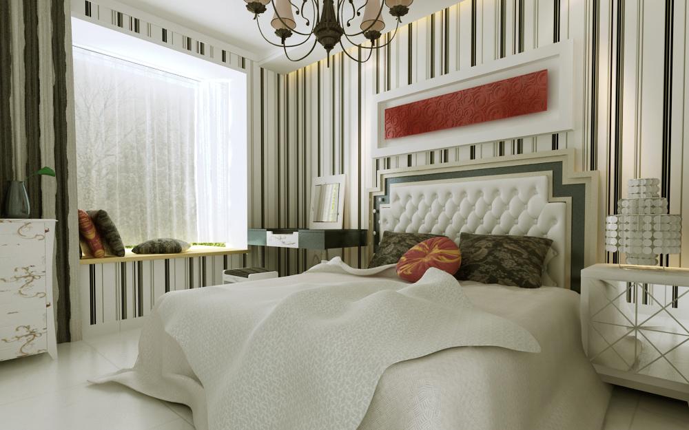 三居 收纳 小资 卧室图片来自广州生活家家居在现代风格 纯净的白的分享