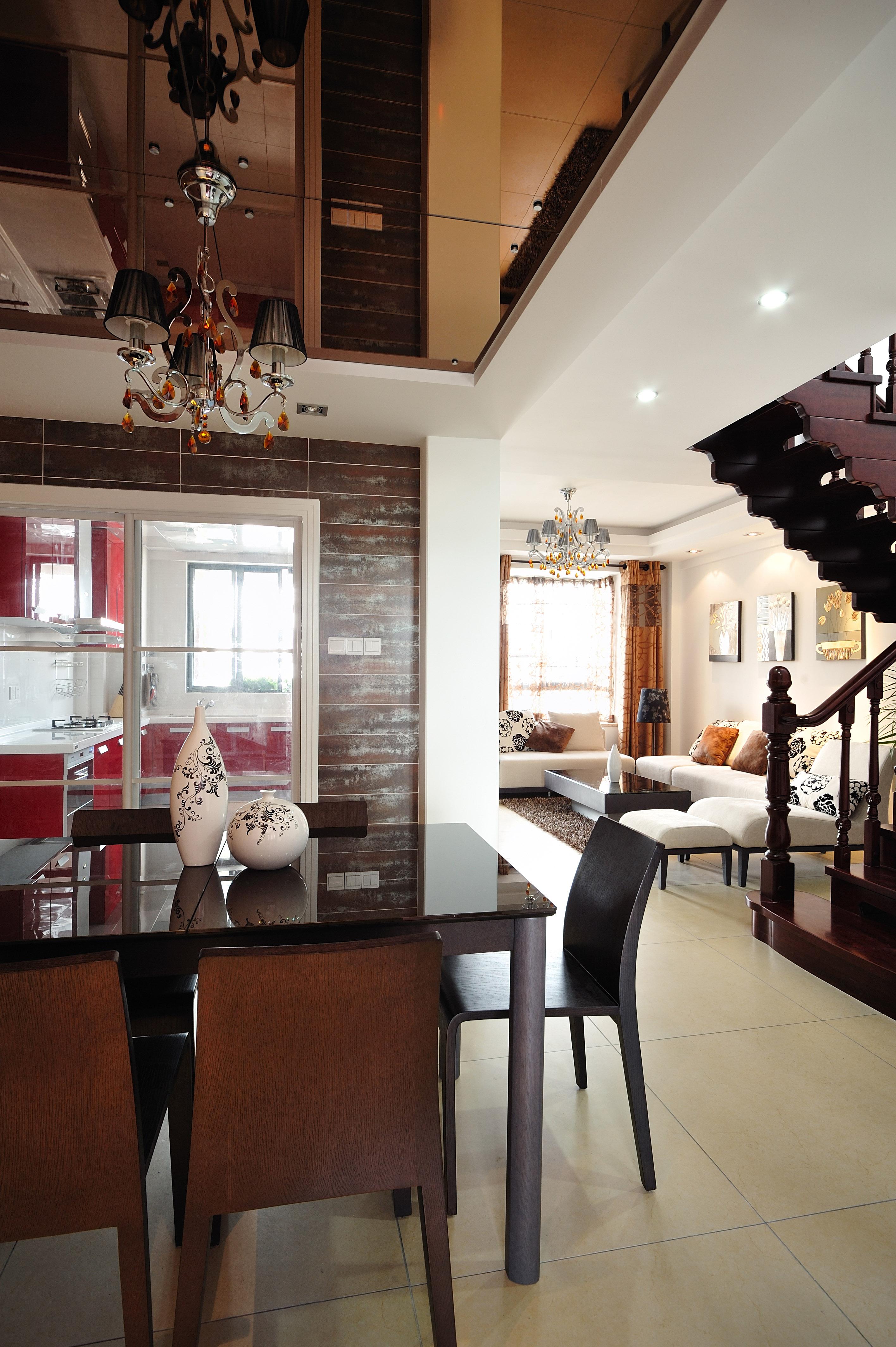 三居 收纳 小资 餐厅图片来自广州生活家家居在金辉莱茵城128㎡的分享