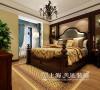 东方国际广场89平两室两厅新古典装修效果图--卧室