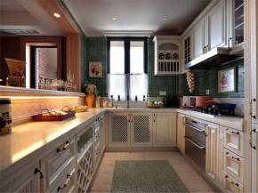 美式 四居 舒适 厨房图片来自北京精诚兴业装饰公司在橡树湾新美式家居的分享